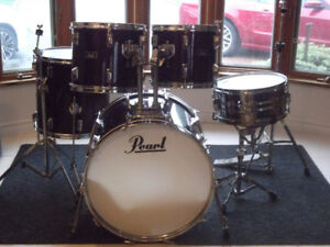 Gros Drum Set usagé  Batterie PEARL Shell Kit used  12 13 16 22