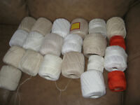 42 balls of crochet cotton - $25 for all