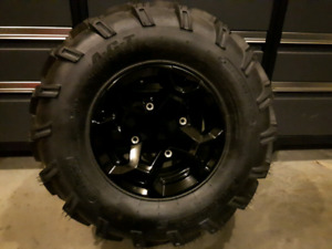 Brand new Can Am Outlander wheels and tires