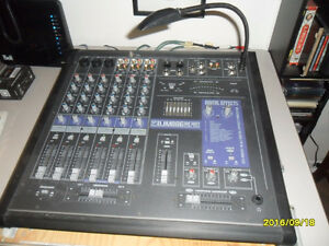 YORKVILLE DJM806 Stereo Mixer - with travel case