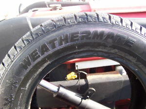 Weather Mate Arctic 215/60R15  (1 new winter tire)