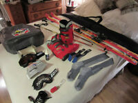 REDUCED $   Men's Downhill Ski Package