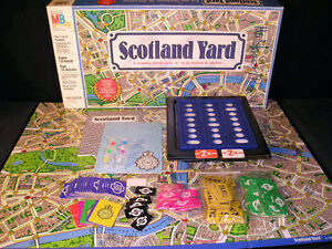 BOARD GAME SCOTLAND YARD - EXCELLENT CONDITION