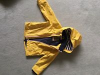 Lovely Boys Yellow Raincoat - M&S - 2-3 years