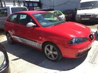 Seat Ibiza 1.9TDI 130 BHP 2006MY FR 1.9 diesel 6 speed manual