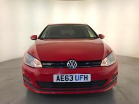 2013 VOLKSWAGEN GOLF BLUEMOTION TDI TOUCHSCREEN DISPLAY DAB STOP/ START