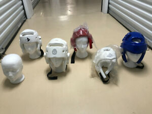 Martial Art Helmets - sparring boxing Taekwon Do new & pre-owned