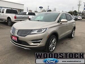 """2015 Lincoln MKC Base   ECOBOOST PACKAGE, 19"""" WHEEL PACKAGE"""
