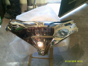 GL1800  Chrome windshield panel