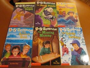 A to Z MYSTERIES books