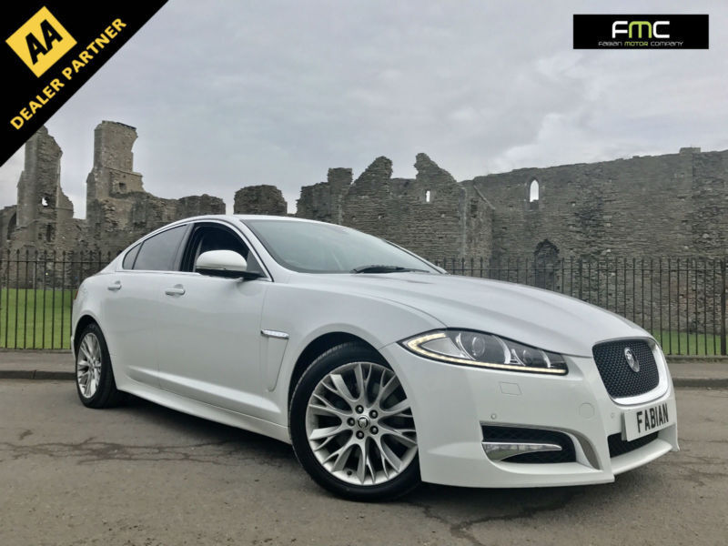 2012 62 Jaguar XF Sport 2.2TD WHITE Auto **Full Service History - Fully Loaded**