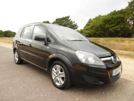 Vauxhall Zafira Exclusiv PETROL MANUAL 2013/13