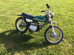 1971 Yamaha JT1, mini enduro/ mini bike