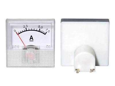 0 - 75a Dc Einbau Messinstrument Analog Amperemeter Mit Shunt - Mini 40x40x25mm