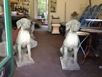 A pair of stone lurchers