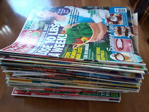 Lots of women's magazines - at least 50