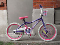BRAND NEW /  NEVER USED GIRL'S  BIKE / 7 TO 9 YEAR OLDS