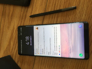 UNLOCKED SAMSUNG GALAXY NOTE 8 64 GB W/BOX GLASS SCREEN PROTEC
