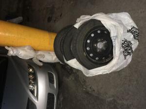 205/55/r16 - pneus hiver avec rims
