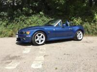 2000 W BMW Z3 2.0 ROADSTER ONLY 72000 MILES TOPEZ BLUE LOVELY CONDITION