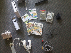 Nintendo Wii with wii and PSP games... Great deal!!!