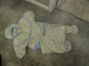 Baby Bear snow suit/combo size 18 months