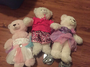 3 Build A Bears $10 each or 3/$20