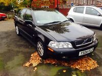 VOLVO S40 1.8 2004 AUTOMATIC LONG MOT ONLY £795