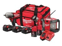 Milwaukee 3 Piece Impact Kit.
