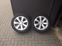 Mercedes Benz Tyres and Alloys 205/55R16