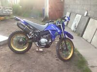 Yamaha XTR125. 4 stroke equivalent to the DT