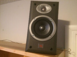 Two pairs of higher end bookshelf speakers