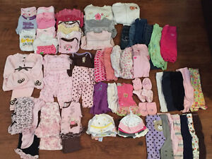 68 Pieces of Baby Clothing