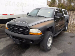 2000 DODGE DAKOTA QUAD CAB 4X4