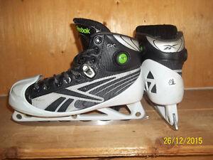 Junior Goalie Skates Size 5 1/2 (RBK 6K with Pumps)