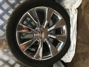 "22"" vogue rims with brand new tires"