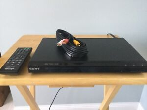 SONY DVD/CD PLAYER