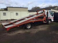 ISUZU NPR 65P***TWO CAR RECOVERY TRUCK + TWIN DECK + LOW MILEAGE***
