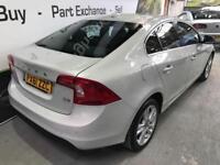 2011 61 VOLVO S60 2.0 D3 SE LUX 4D AUTO 161 BHP DIESEL