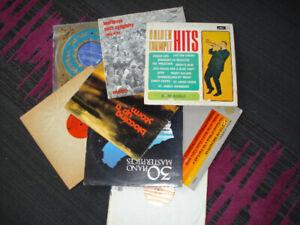 8 Classical vinyl records