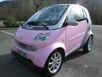 06/06 SMART FORTWO PASSION 0.7 PINK EDITION WITH SERVICE HISTORY