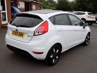 2015 65 FORD FIESTA 1.2 ZETEC WHITE EDITION AUTUMN 5DR