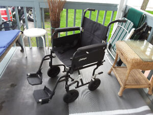 New transport wheelchair