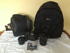CANON EOS 40D with Lens and Gear Set Kitchener / Waterloo Kitchener Area image 1
