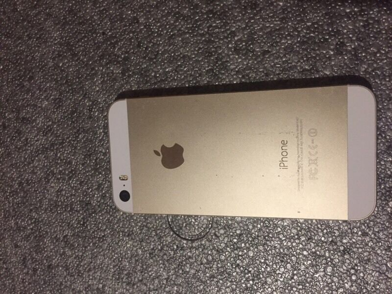 Iphone 5 unlockedin Elgin, MorayGumtree - iPhone 5, 16gb, white/gold, unlocked to any network, comes with charger. Very good condition