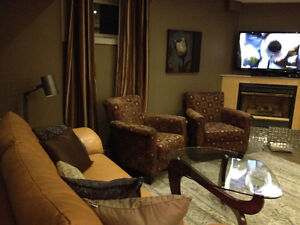 Designer Decorated and Fully Furnished Basement Suite
