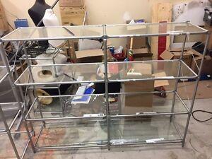 IKEA metal shelve étagère