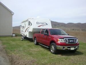 Cruiser Sport 25ft fifthwheel tandem Ford F150 XLT 2008