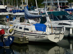 1977 Hunter 27 Sailboat