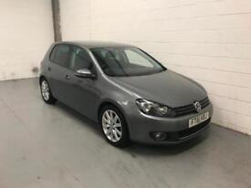 Volkswagen Golf 2.0 GT TDI 2011/61 PLATE, ONLY 50000 MILES FROM NEW